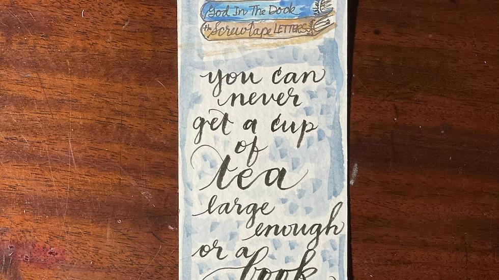 Tea and Bookmark No. 1