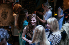 Yuliya Dan with guests  #together1heart #artforheart #yuliyadanart