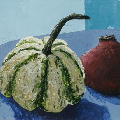 """Pumpkin and Pomegranate"