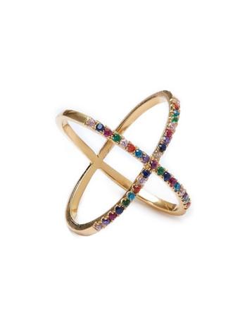 Rainbow X Ring