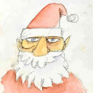 Papai Noel saudando o século XXI