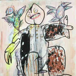 Nenad, o domador de pássaros