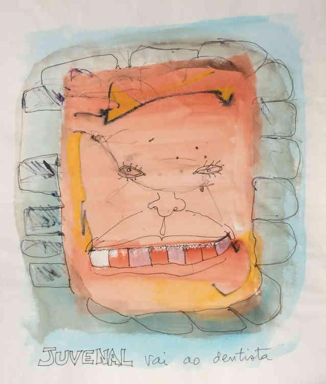 Juvenal vai ao dentista