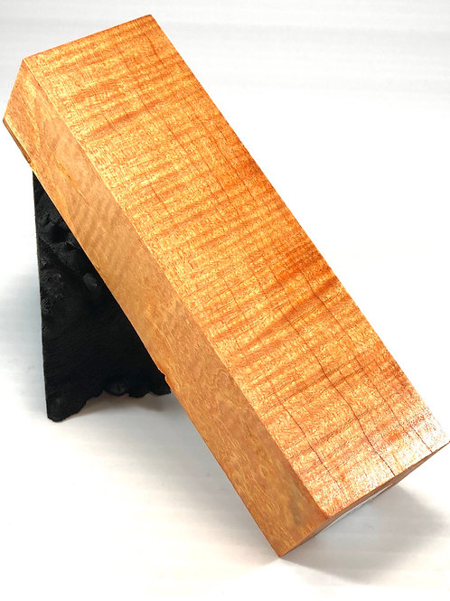 Custom Block - Dyed Curly Maple