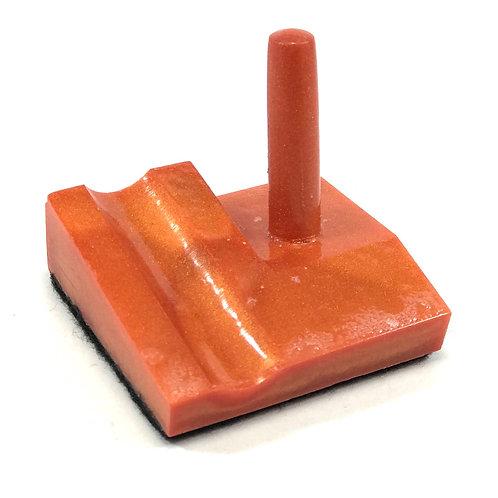 Junior Series Alumilite Resin Pen Stand - Orange