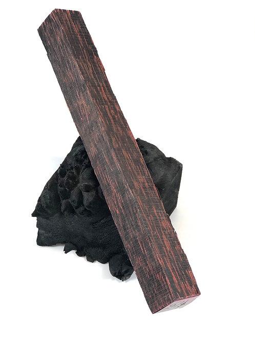 Pen Blank - Dyed Black Palm Wood