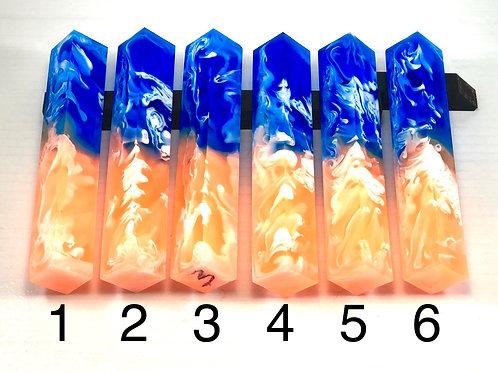 Pen Blank - Liquid Art Resin - Sunkist