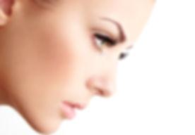 Frau mit den langen Wimpern