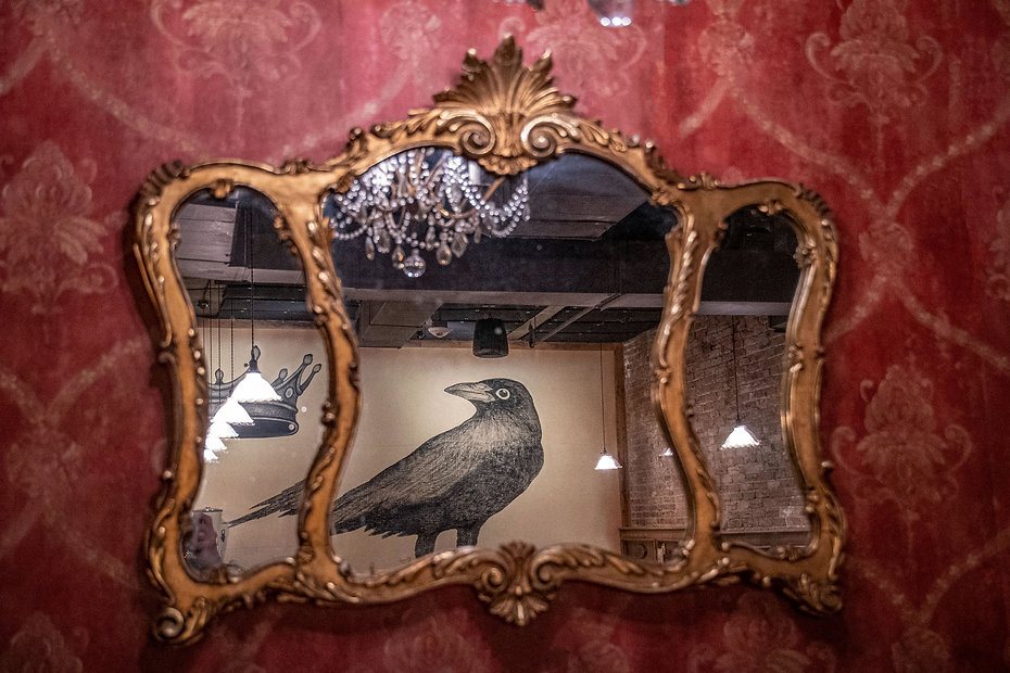 a1 mural reflection in #1 mirror.jpg