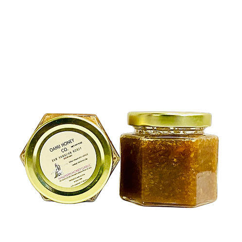 OAHU HONEY GARLIC JAM |HAWAIIAN HONEY, GARLIC|