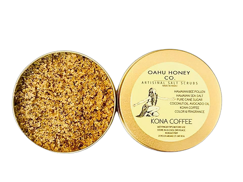KONA COFFEE HAWAIIAN SEA SALT SCRUB