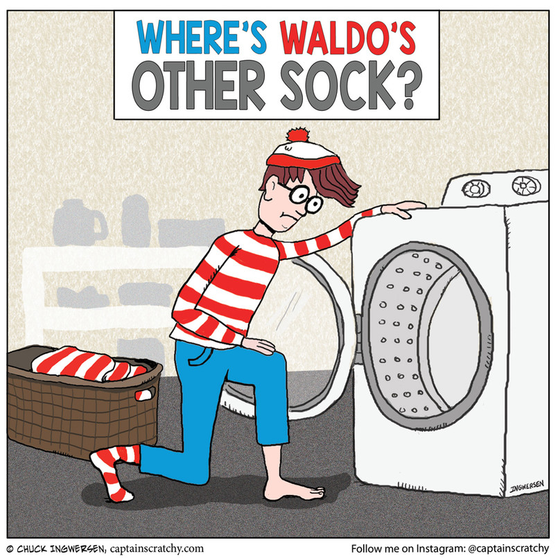 One-Sock Waldo