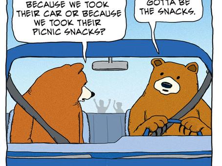 Bears make a quick getaway