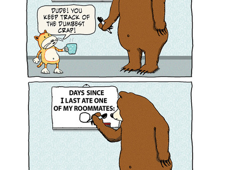 A bear's streak comes to an end