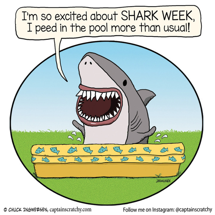 Very excited about Shark Week 2021