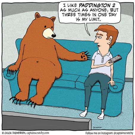 The Bear Wants More Paddington