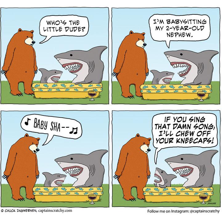 Can't bear the Baby Shark song