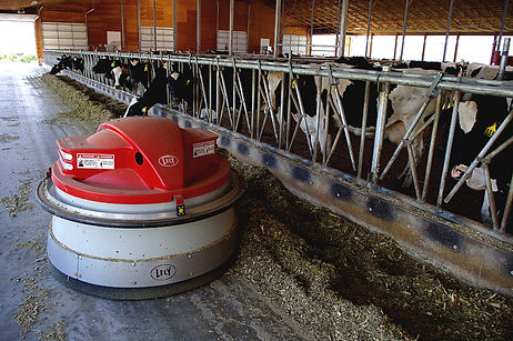 Boa Vista's Lely Juno 150 feed pusher