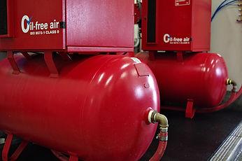 Rosegate Dairy air compressors