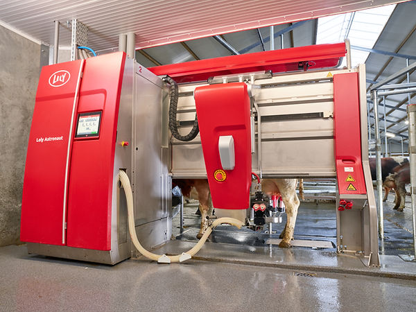 Lely A5 Robotic Milking Machine