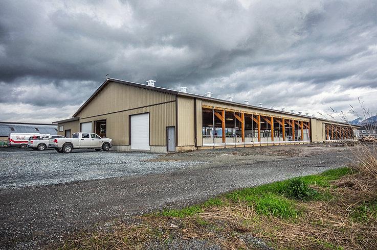 RJR Dairy in Matsqui, BC