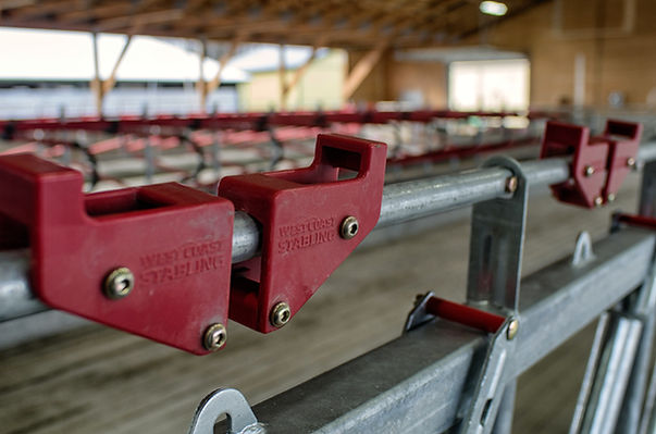 West Coast Stabling dairy barn products