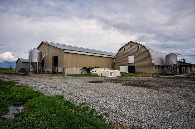 Robotic dairy barn exterior