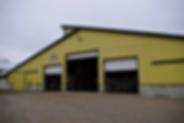 Rosegate Dairy barn exterior
