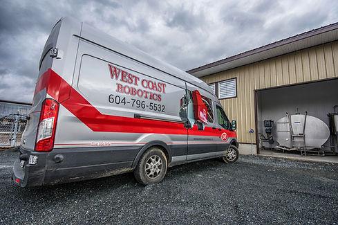 West Coast Robotics service van