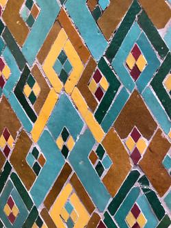 Mosque Mosaic, Casablanca