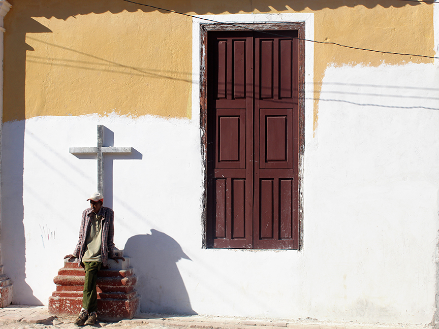 Cienfuegos Man with Cross