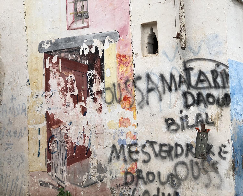 Graffiti, Rabat