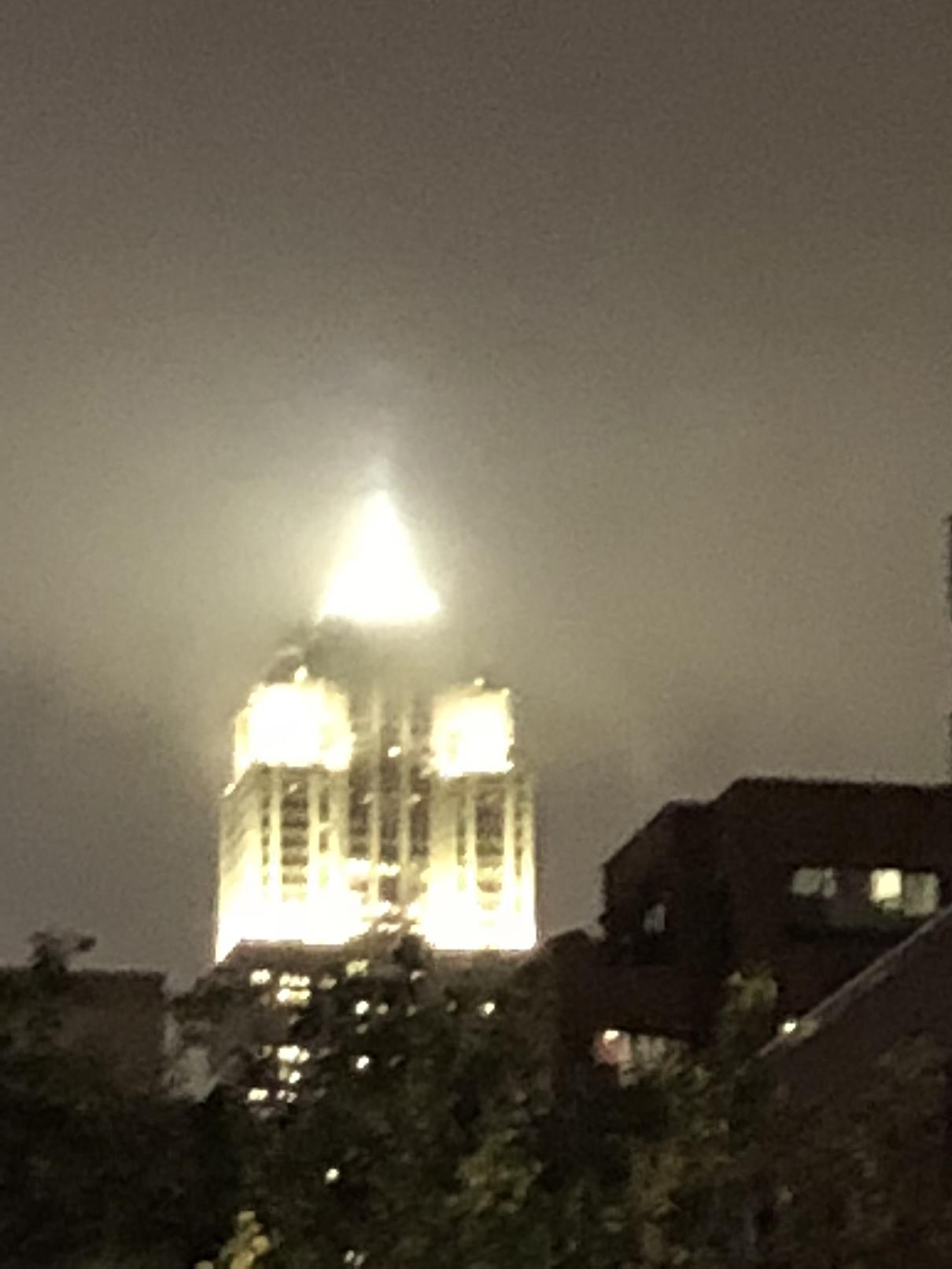 Foggy Empire, NYC