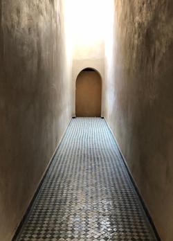 Bahia Palace Corridor, Marrakesh