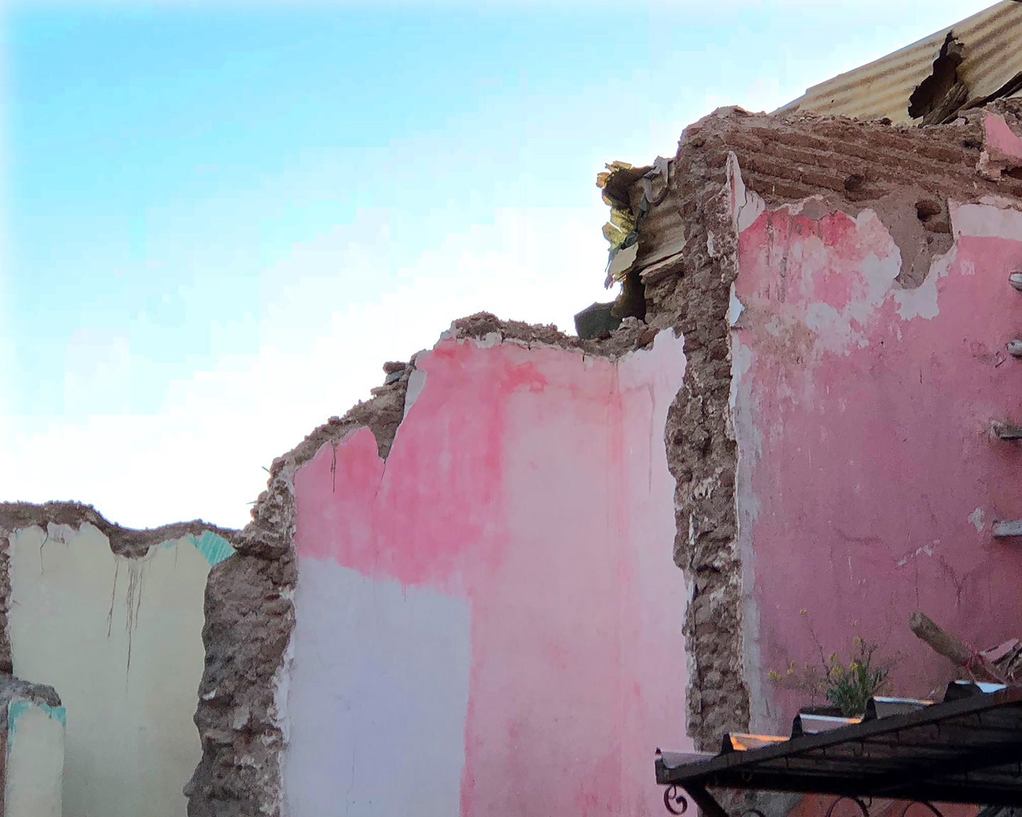 Pink Wall, Marrakesh