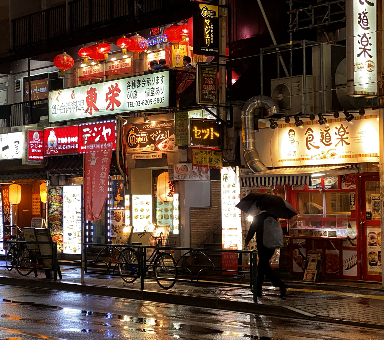Shinjuku Rainy Night