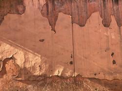 Peeling Wall, Marrakesh