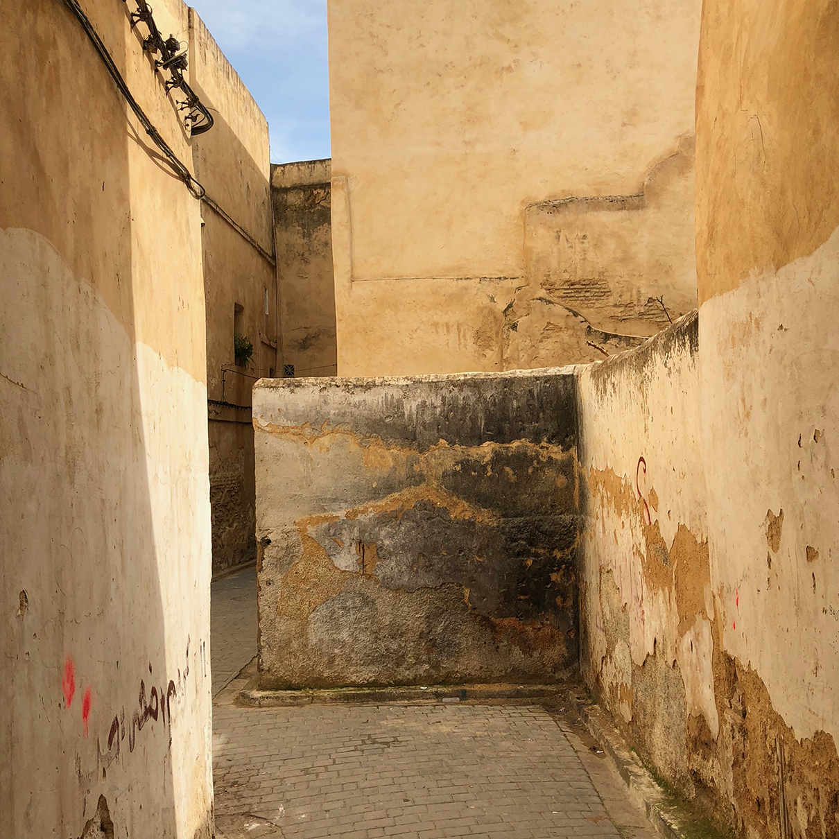 Stained Wall, Fez