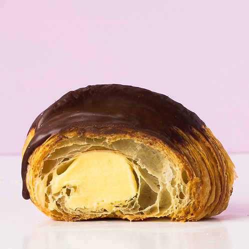 PICK UP ONLY Boston Cream Pie Croissant