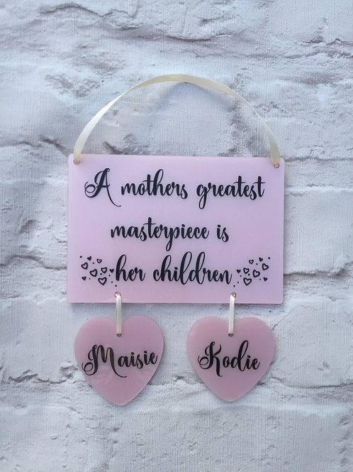 Mothers greatest masterpeice