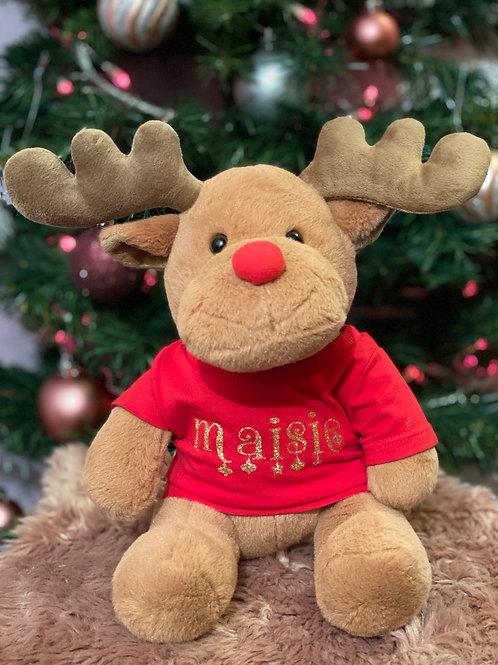 Named reindeer toy