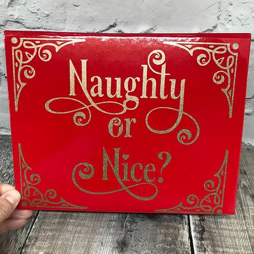 Naughty / Nice box