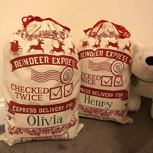 Large Santa sacks