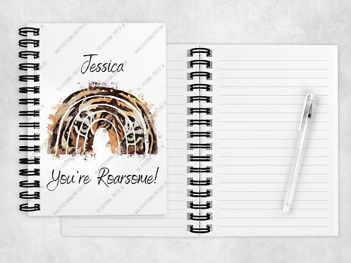 You're Roarsome tiger A5 notebook