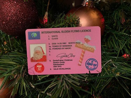 Santa's lost licence