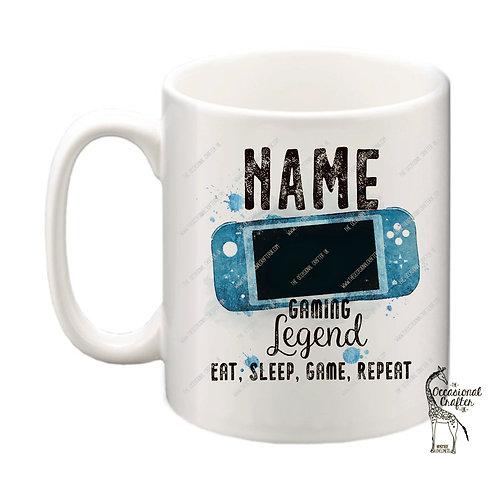 Handheld Gaming Legend mug