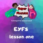 EYFS lesson 1