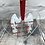 Thumbnail: Etched wings memorial heart - far away