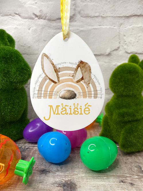 Bunny Rainbow Easter decoration