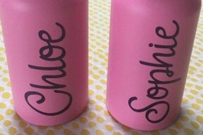 Water bottle decals